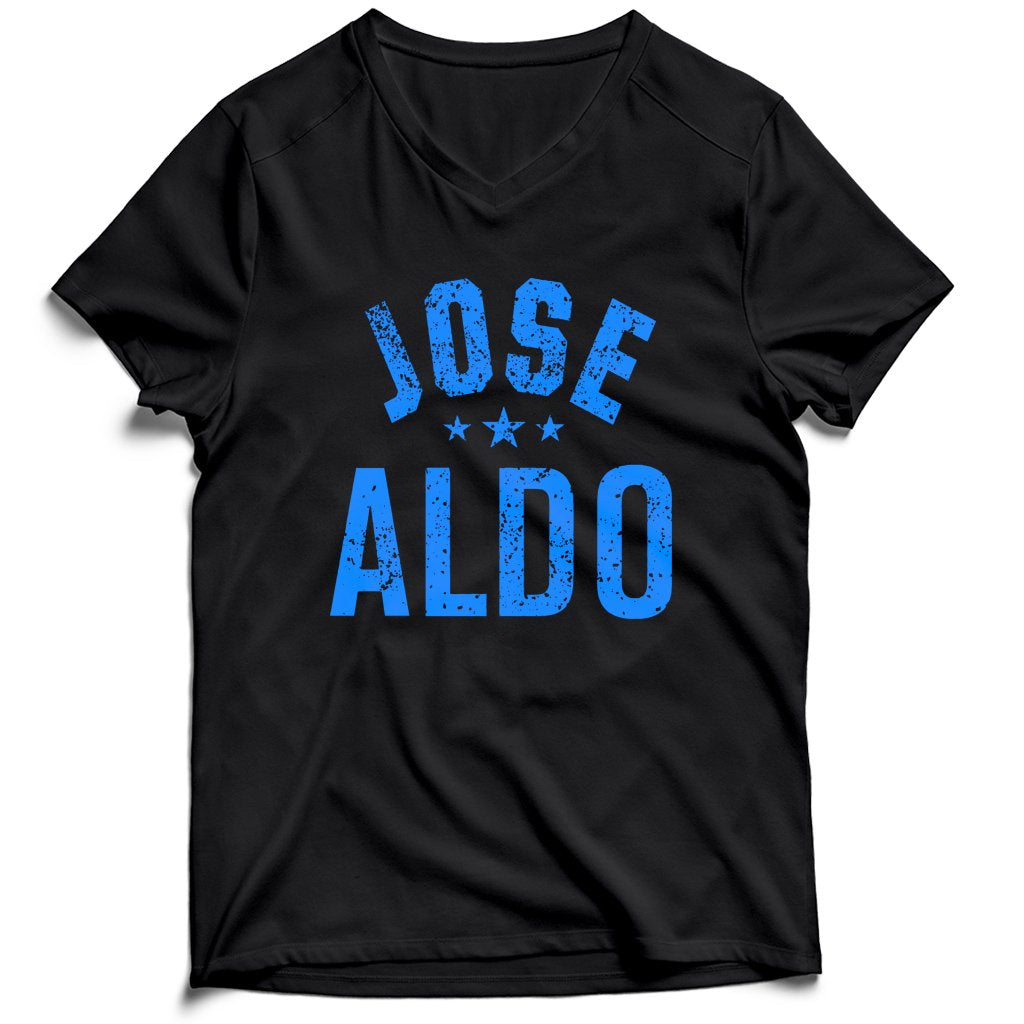 Jose Aldo Ufc Men's V-Neck Tee T-Shirt