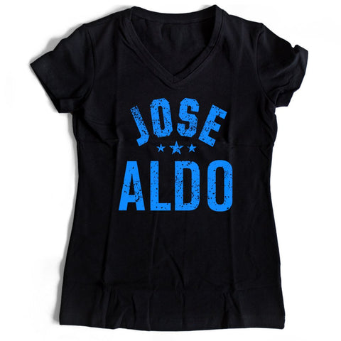 Jose Aldo Ufc Women's V-Neck Tee T-Shirt