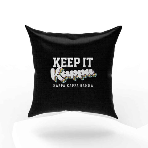 Kappa Kappa Gamma Sayings Pillow Case Cover