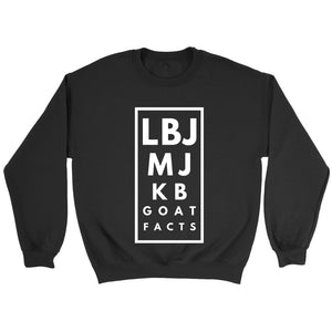 Kb Mj Lbj Basketball Goat Sweatshirt