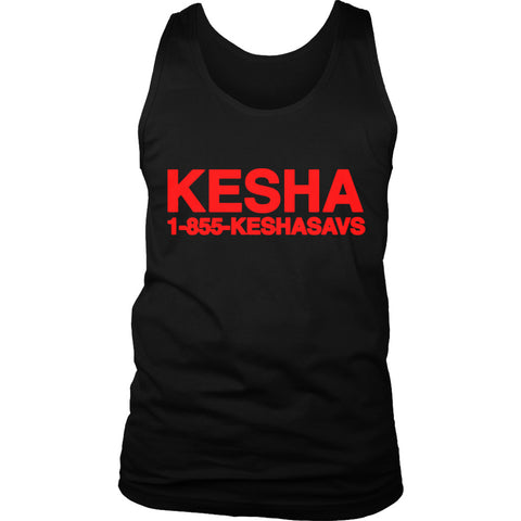Kesha 1 855 Keshasavs Men's Tank Top