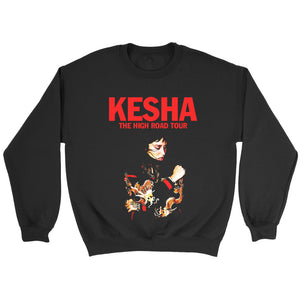 Kesha The High Road Tour Poster Cover Sweatshirt