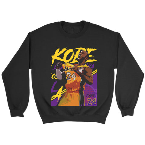 Kobe Bryant 24 Lakers Sweatshirt