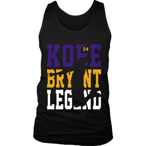 Kobe Bryant 24 Legend Men's Tank Top