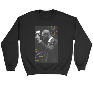 Kobe Bryant 8 24 Mamba Out Sweatshirt