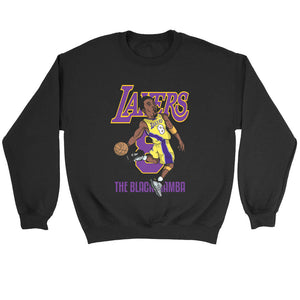 Kobe Bryant 8 Lakers The Black Mamba Sweatshirt