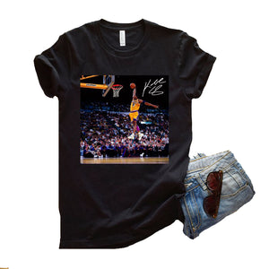 Kobe Byant The Dunk Women's T-Shirt