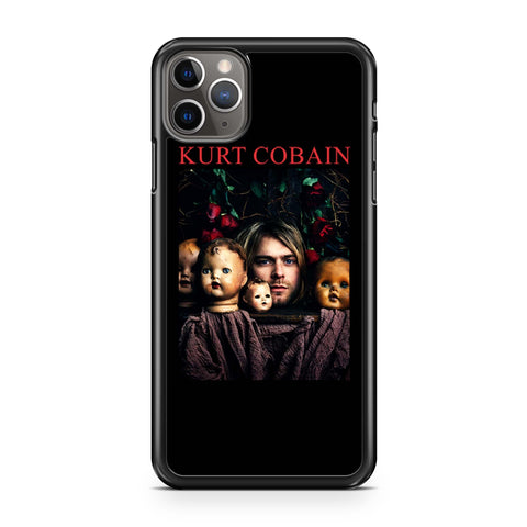 Kurt Cobain Nirvana Doll Heads iPhone 11 Pro Max Case