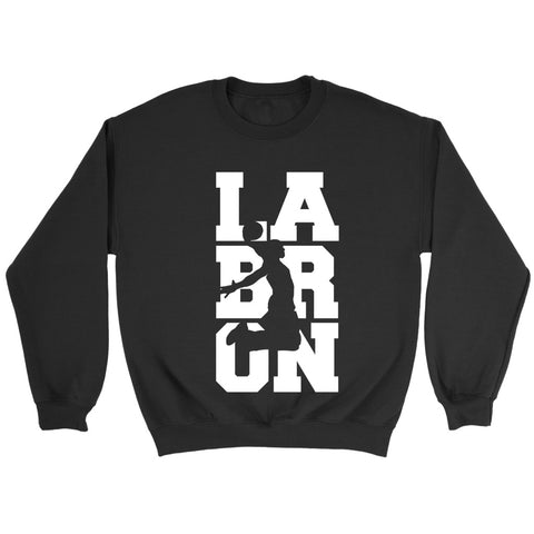 Labron Basketball V2 White Sweatshirt