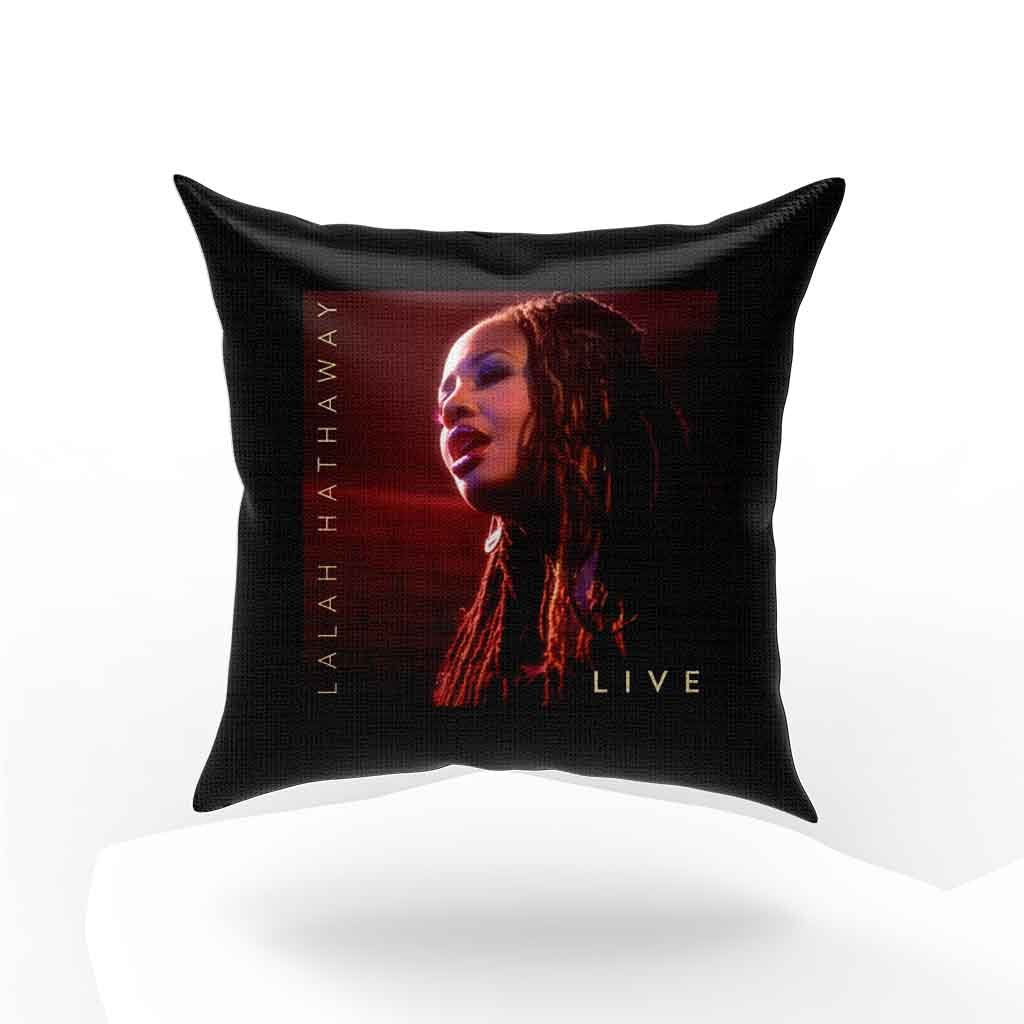Lalah Hathaway Live Pillow Case Cover