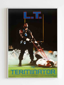Lawrence Taylor 1986 Poster