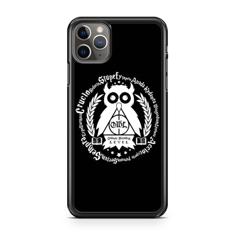Learn Your Spells Geek Harry Potter Owl iPhone Case