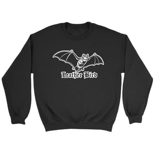 Leather Bird Sweatshirt