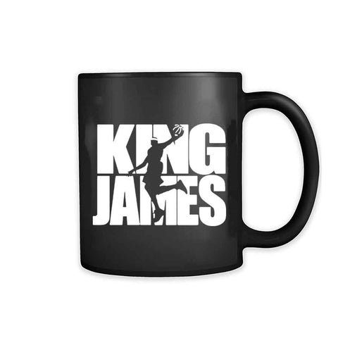 Lebron James King James Slam Dunk Mvp Cleveland Nba 11oz Mug