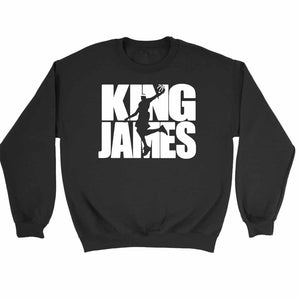 Lebron James King James Slam Dunk Mvp Cleveland Nba Sweatshirt