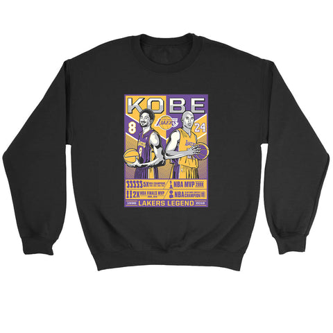 Legend Of Kobe Bryant Sweatshirt