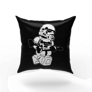Lego Starwars Trooper Funny Weapon Pillow Case Cover