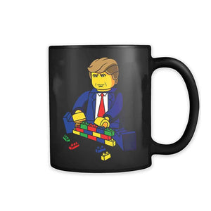 Lego Trump  Build A Wall 11oz Mug