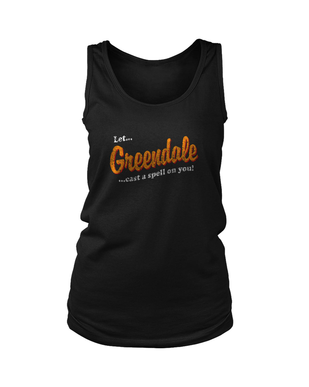 Let Greendale Put A Spell On You Chilling Adventures Of Sabrina Women's Tank Top