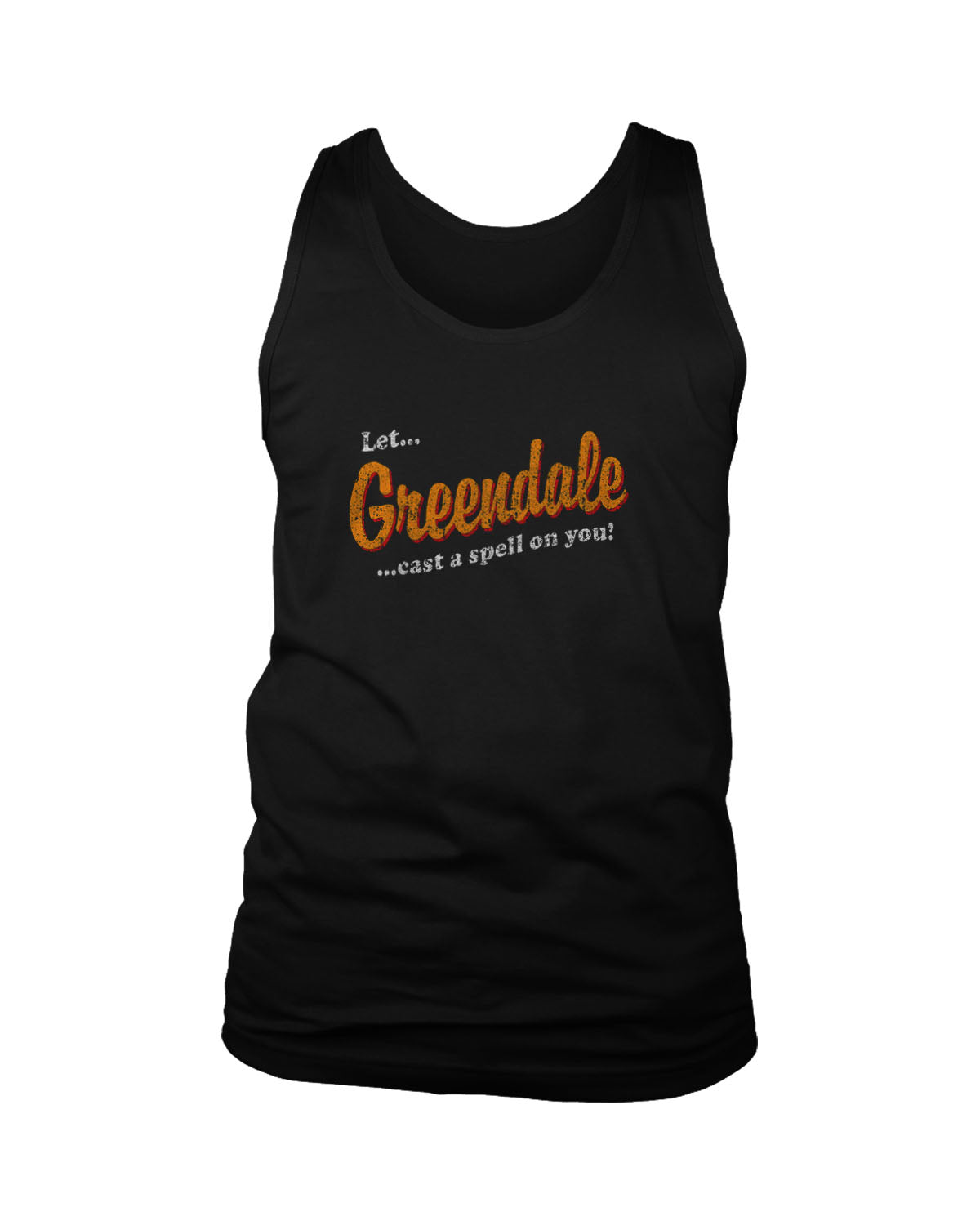 Let Greendale Put A Spell On You Chilling Adventures Of Sabrina Men's Tank Top