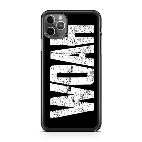 Lil Baby Woah iPhone Case