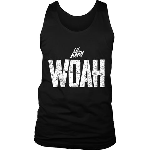 Lil Baby Woah Men's Tank Top
