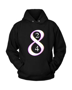 Los Angeles La Laker Legend Kobe Bryant Retiring 8 And 24 Jersey Numbers Unisex Hoodie