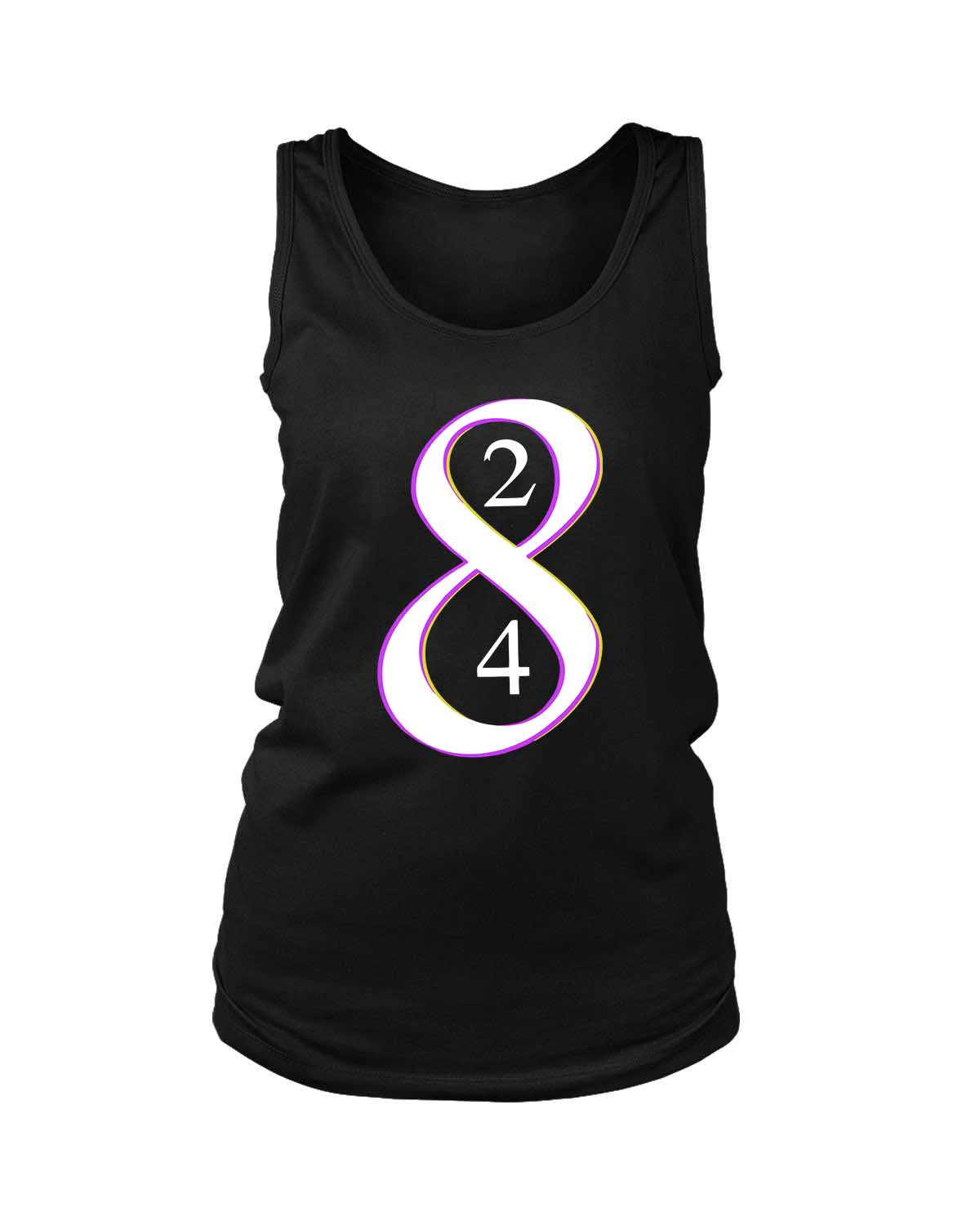 Los Angeles La Laker Legend Kobe Bryant Retiring 8 And 24 Jersey Numbers Women's Tank Top