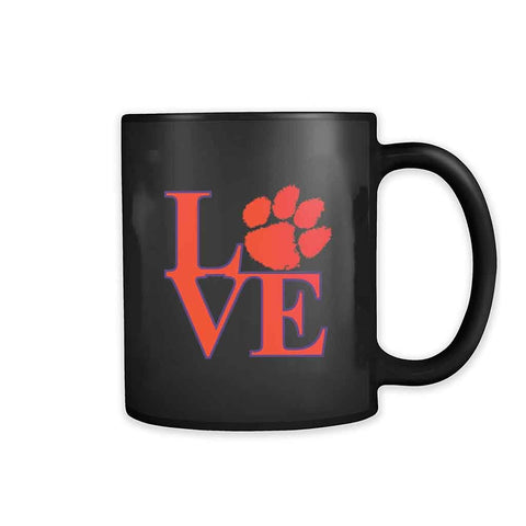 Love Clemson Tiger 11oz Mug