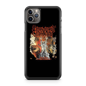 Malevolent Creation The Ten Commandments Death Suffocation iPhone 11 Pro Max Case