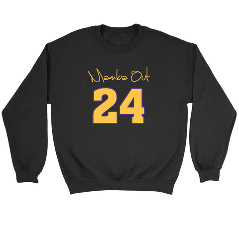 Mamba Out 24 Sweatshirt