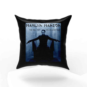 Marilyn Manson Blue Hell Not Hallelujah Pillow Case Cover