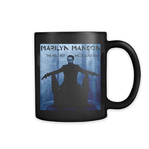 Marilyn Manson Blue Hell Not Hallelujah 11oz Mug