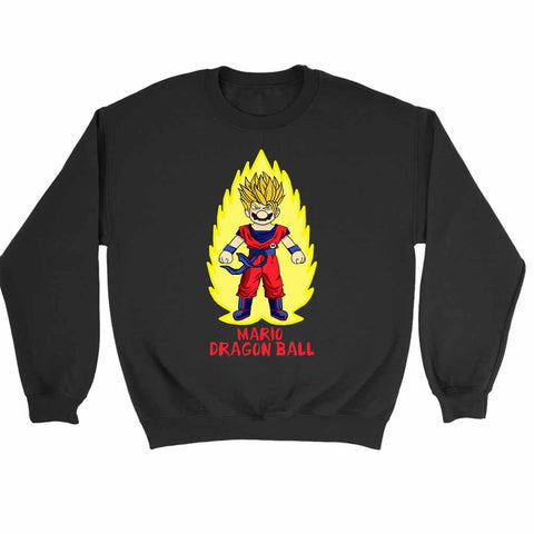 Mario Dragon Ballz Sweatshirt