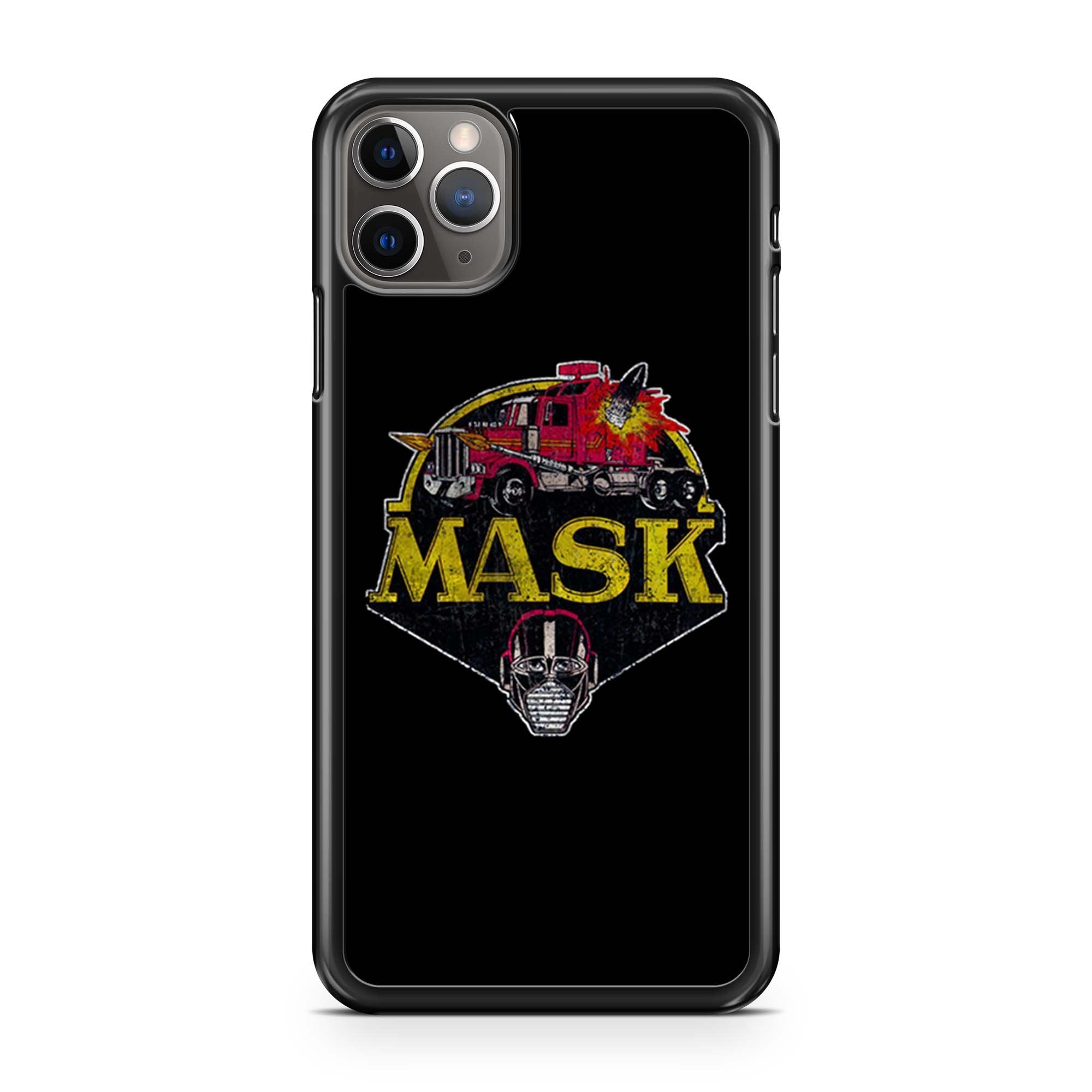 Mask Vintage Logo iPhone 11 Pro Max Case