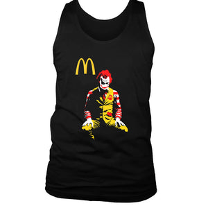 Mcjoker Parody Mcdonald Men's Tank Top