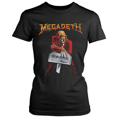 Megadeth For Sale Women's T-Shirt