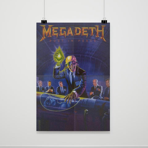 Megadeth Rust In Peace Poster