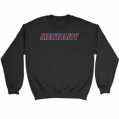 Mentality Lakers Winning Basketball Kobe Bryant Success Sweatshirt