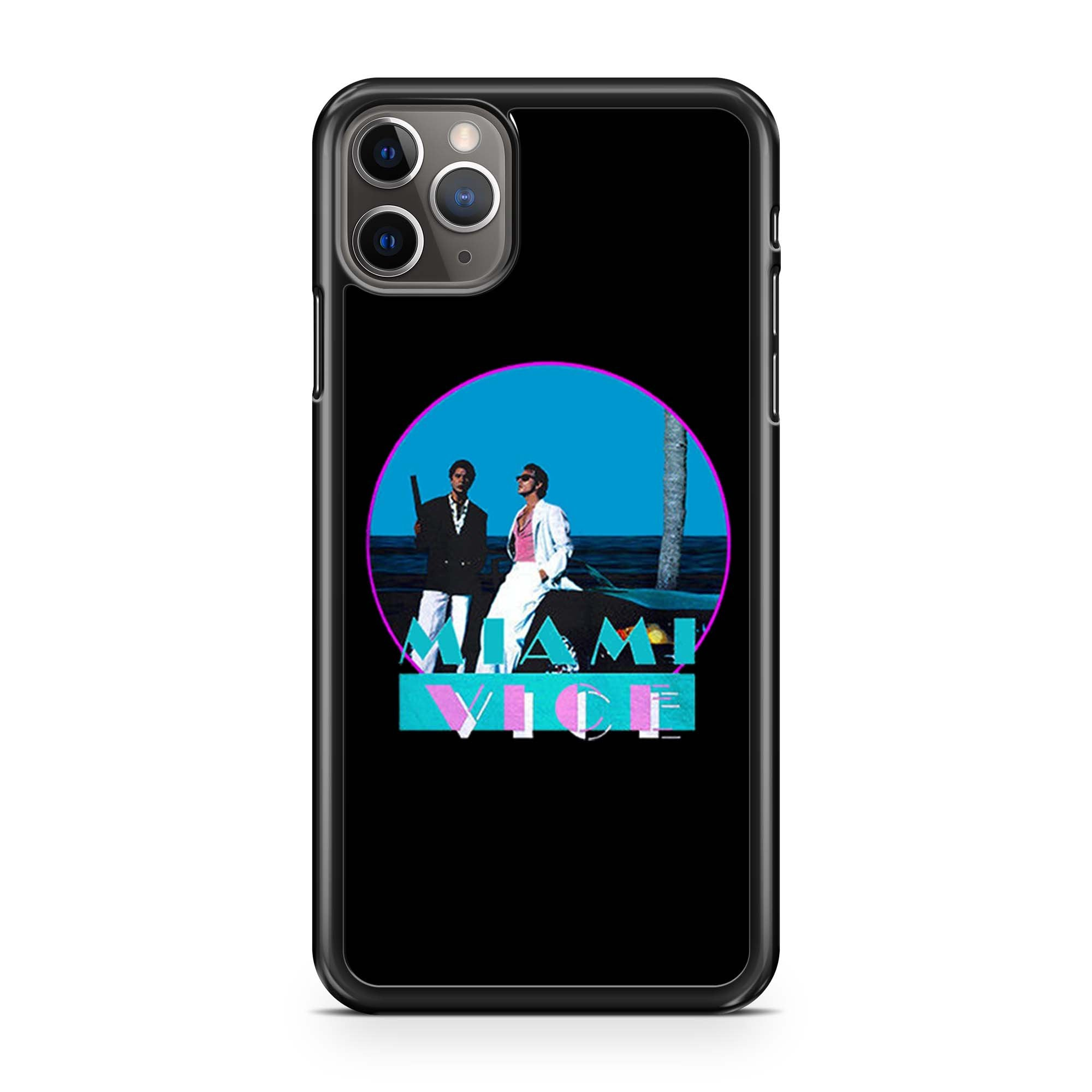 Miami Vice Retro Tv iPhone 11 Pro Max Case