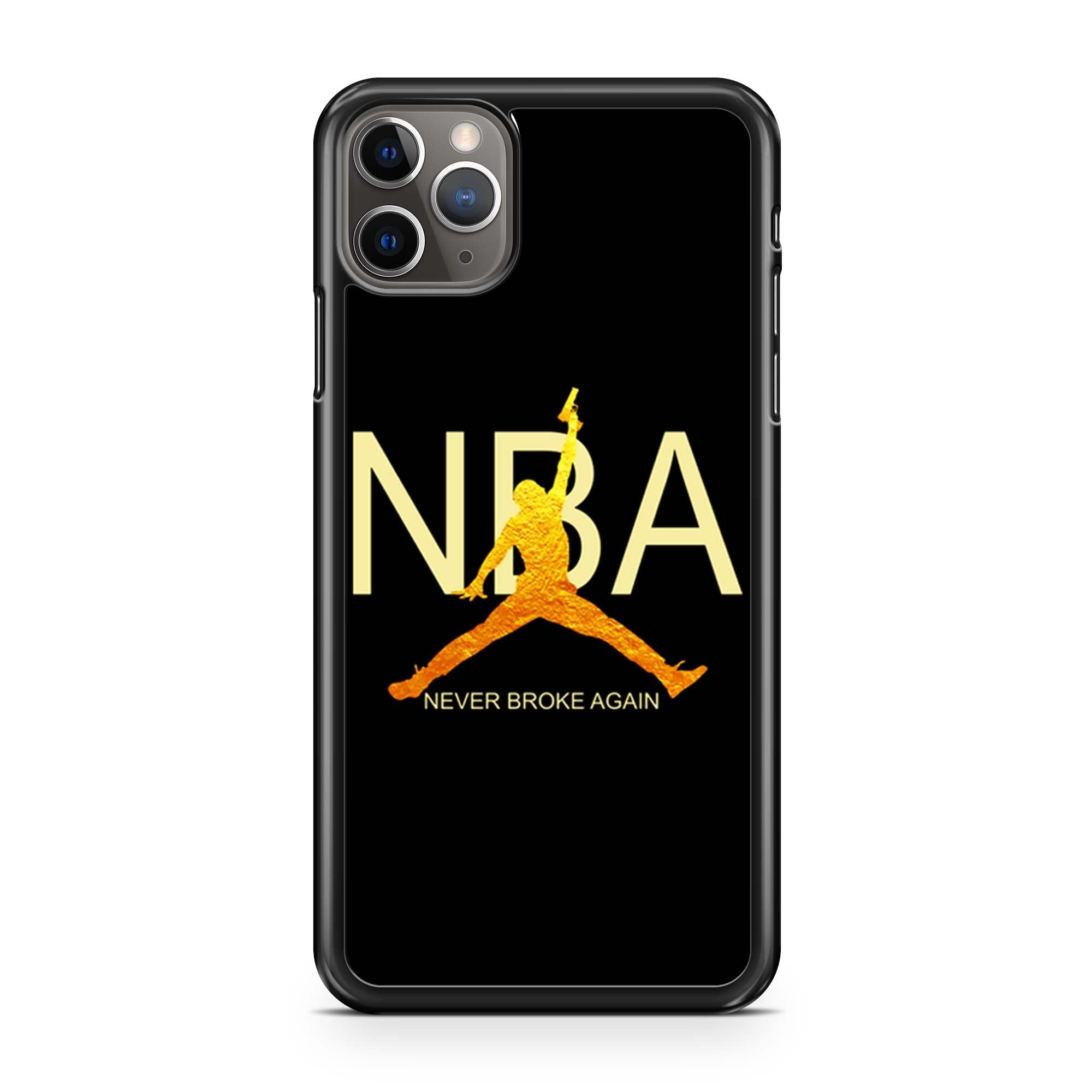 Nba Gold Logoyoungboy Never Broke Again iPhone 11 Pro Max Case