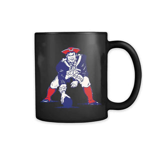New England Ne Patriots Retro Logo 11oz Mug
