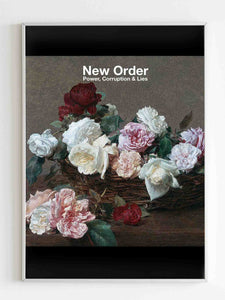 New Order Power Corruption And Lies Cover Poster