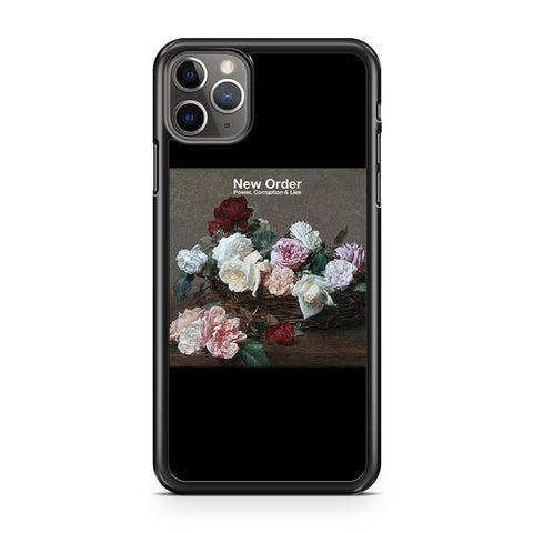 New Order Power Corruption And Lies Cover iPhone 11 Pro Max Case