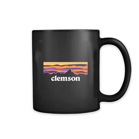 New World Graphics Clemson University Mountain 11oz Mug