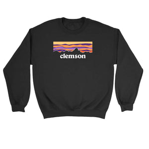 New World Graphics Clemson University Mountain Sweatshirt