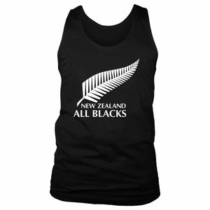 New Zealand All Blacks National Rugby Men's Tank Top
