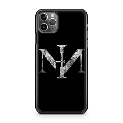 Nin Nine Inch Nails Grunge Logo iPhone 11 Pro Max Case