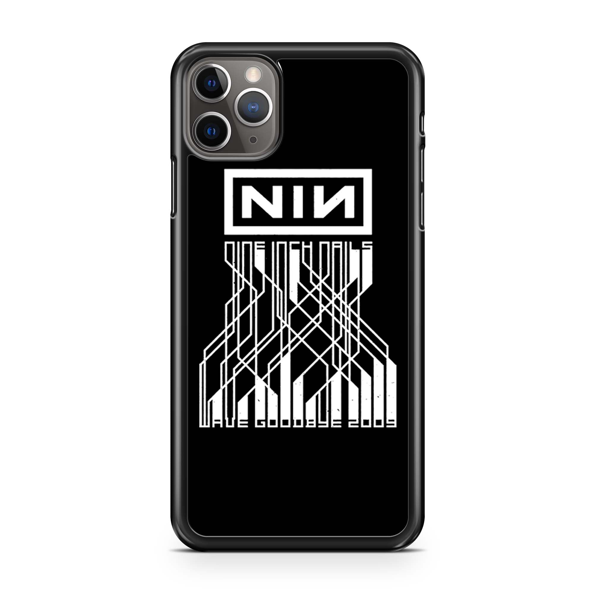 Nin Nine Inch Nails Wave Goodbye 2009 iPhone 11 Pro Max Case