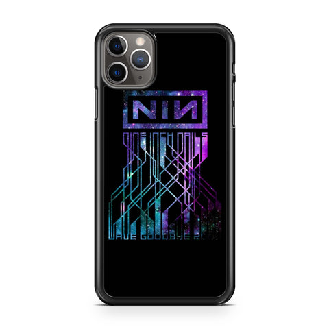 Nin Nine Inch Nails Wave Goodbye 2009 Galaxy Nebula iPhone 11 Pro Max Case